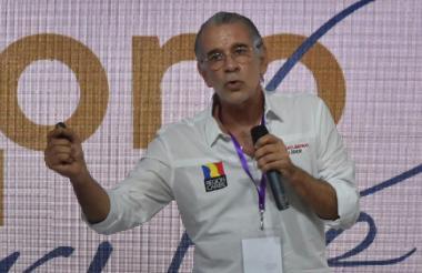 Eduardo Verano de la Rosa, gobernador del Atlántico.
