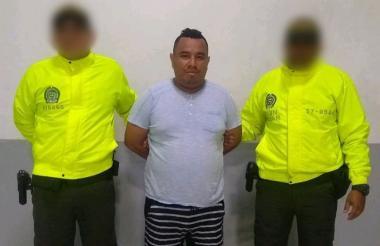 Nicolás Blanco Fernández, capturado por abuso.