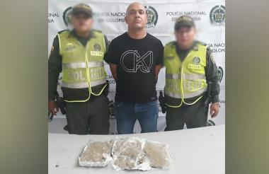 Jackson Boniet Crespo Muñoz, capturado.