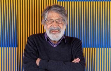 El reconocido artista venezolano Carlos Cruz-Diez.