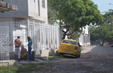 Sector de la carrera 13C con calle  57-09, barrio La inmaculada, de Soledad, donde ocurrió el homicidio del ciudadano venezolano.
