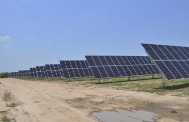 Paneles donados por Enel Green Power.