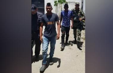Willinton Farid Mariota y Davinson Manuel Mariota, dos de los presuntos homicidas de la joven venezolana.