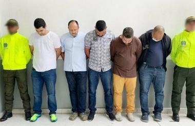 Capturados por tráfico de armas el pasado 20 de julio.