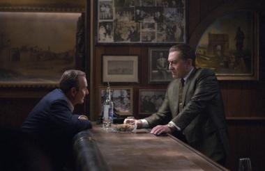 Robert de Niro y Joe Pesci en 'The Irishman'.