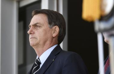 El mes pasado Bolsonaro puso en duda los datos que muestran un avance de la deforestación.