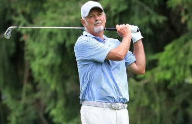 El golfista británico Gordon Brand Jr, vencedor de la Ryder Cup de 1987