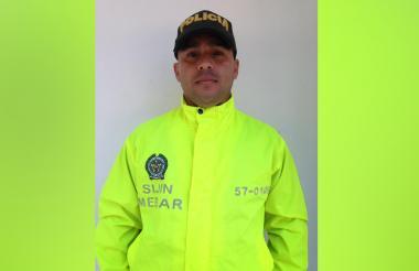 Eduardo Bolaños Guzmán, patrullero de la Sijín asesinado en abril de 2018.