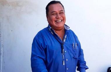El reportero Jorge Celestino Ruiz.