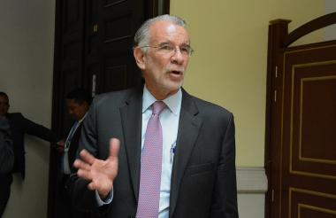 El gobernador del Atlántico, Eduardo Verano De la Rosa.
