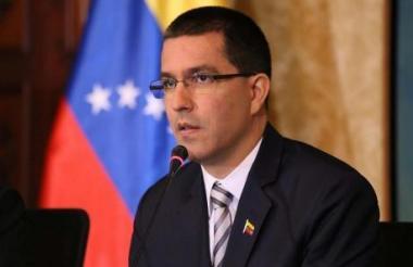 El canciller venezolano Jorge Alberto Arreaza Montserrat .