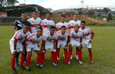 Integrantes de la selección Atlántico sub-21 que disputará el título del Campeonato Nacional.
