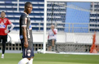 El defensor Germán Mera debutará hoy con Junior. Llegó este semestre para reforzar la zaga.