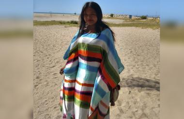 Filia Rosa Jarariyu, niña wayuu.