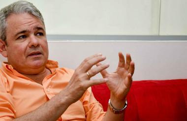 El director de la División del Derecho de Patentes de la Ompi, Marco Alemán.