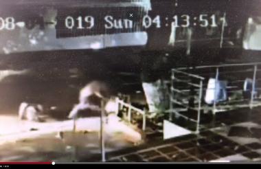 Captura de video de la riña ocurrida el pasado 4 de agosto en la calle 94 con carrera 51B, norte de la ciudad.