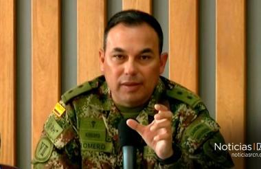 General en retiro Jorge Romero Pinzón.