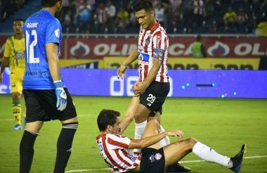 Teo y Hernández.