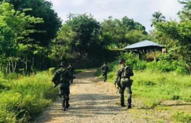 La Policía vigila de manera permanente varias zonas del departamento.