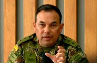 General Jorge Romero Pinzón, excomandante de la Cuarta Brigada del Ejército.