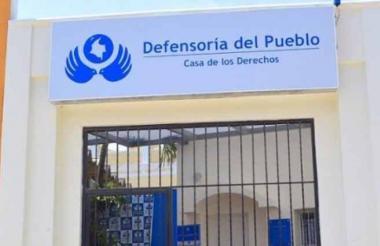 Fachada de la Casa de Derechos de Soledad.