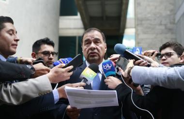 Fiscal General de la Nación (e) Fabio Espitia Garzón
