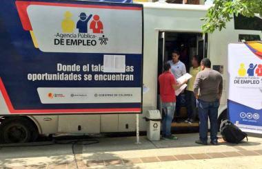 Oficina móvil del Sena que estará en los municipios.