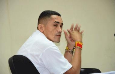 Walter Arias Ariza, condenado.