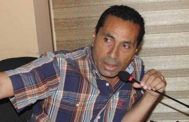 Hilber Pinto Aragón, capturado por el CTI.