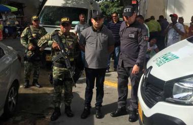 Héctor Antonio Villar Sierra, de nacionalidad dominicana, detenido en B/quilla.