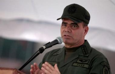 El ministro de Defensa y general en jefe de la Fuerza Armada, Vladimir Padrino.