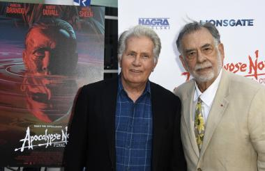 Martin Sheen y Francis Ford Coppola.