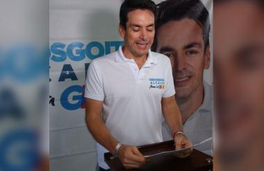 Carlos Ordosgoitia Sanín, candidato a la Alcaldía de Montería.