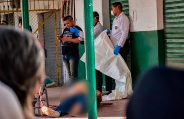 Mariano Miguel Rosales Cruz perdió la vida en el lugar de los hechos.