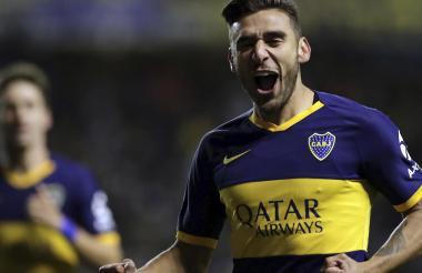 Eduardo Salvio sería una de las grandes novedades este miércoles en la formación de Boca.