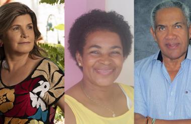 Clara Valencia, Nimia Vargas, Simón Martínez, exponentes.