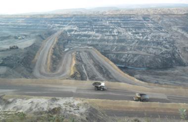 Explotación de carbón por parte del Cerrejón.