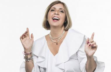 La conferencista y empresaria Ana María Peláez.