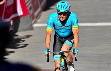 El ciclista danés Jakob Fuglsang.