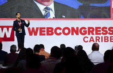 Ouali Benmeziane, CEO y fundador de WebCongress en el evento.