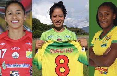 Carolina Arias, Fany Gauto, Daniela Caracas.