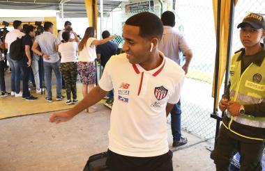 Yohandry tuvo pasajes de buen fútbol ante Envigado.