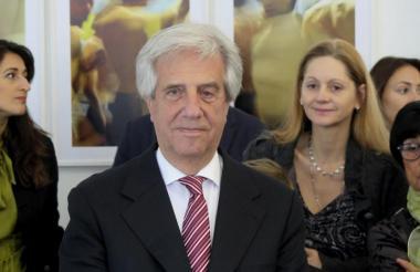 Tabaré Vázquez, presidente de Uruguay.