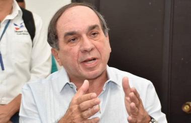 Alberto 'Tico' Aroca Saad, asesinado.