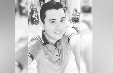Alex Angarita Mena, asesinado.