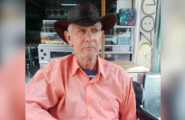 Julio Del Mar, actor barranquillero.