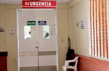 Sala de Urgencias del Hospital San Jerónimo de Montería.