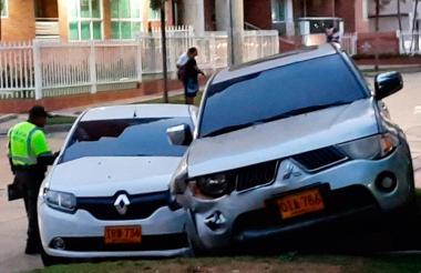 Este accidente ocurrió el lunes en horas de la tarde.