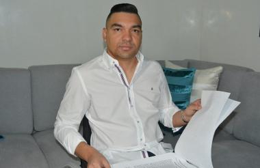 Elkin Javier López, empresario de Santa Marta.