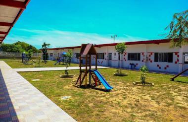 Vista del  CDI 'Universo del Saber' en Los Robles.